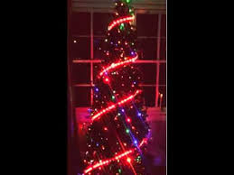 christmas tree decorated with magic led strip super bright led