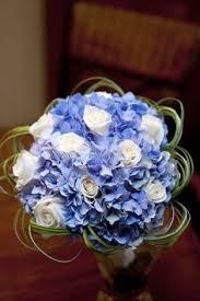 Wedding Flowers Blue Wedding Flowers Blue Hydrangias Deep Blue Wedding Maid Of Honor