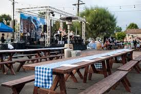 renting tables picnic tables los angeles partyworks inc equipment rental