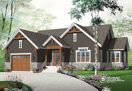 new craftsman house plans new craftsman inspired bungalow house plan 3260 v3 by drummond