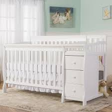 Matching Crib And Changing Table On Me Brody 5 In 1 Convertible Crib And Changer Combo