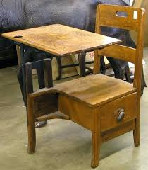 Wooden Student Desk Desk Childs Oak Desk Solid Wood Childs Table And Chairs Vintage
