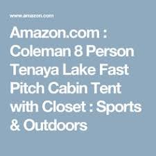 Coleman Namakan Fast Pitch 7 by Coleman Steel Creek Fast Pitch Screened Dome Tent 6 Person