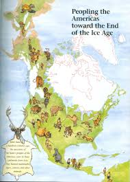 European Exploration Map Early Canada Historical Narratives Eastern Woodland Indians