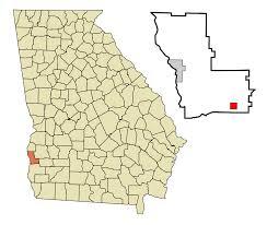 Albany Ga Zip Code Map by Bluffton Georgia Wikipedia