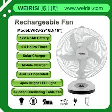 battery operated fan with timer weirisi electrical appliance co ltd