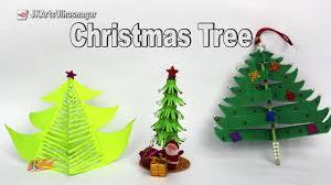 3 paper christmas tree diy how to make christmas decorations
