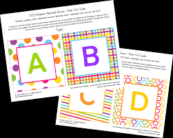 get crafty with nicole free printable abc party banner