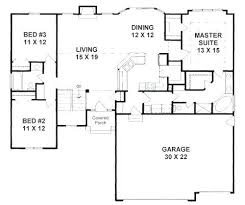 2 bedroom house plans with dining room four bedroom house plans