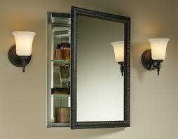 Kohler Bathroom Lighting Brushed Nickel Storage Cabinets Ideas Recessed Medicine Cabinet Brushed Nickel