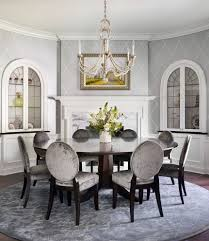upholstered chair dining room traditional interesting ideas with