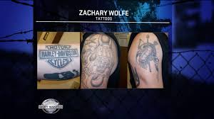captured zachary wolfe violent offender busted for abusing mom