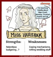 charles dickens biography bullet points miss havisham in great expectations