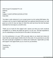 letter of appreciation for support letter idea 2018