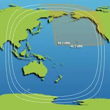 Northeast Map Intelsat Is 19 Satellite Footprint Map