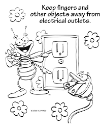 summer safety coloring pages perfect summer heat safety coloring