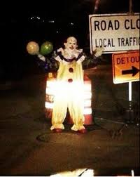 mysterious clown spotted wandering staten island at observer