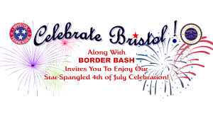 Bristol Tennessee Map by Star Spangled 4th Of July Celebration With Border Bash Discover