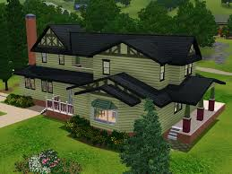 mod the sims green house from the game intro sims 3 lots