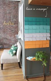Diy Office Decorating Ideas Diy Leave A Message Coco Kelley Coco Kelley