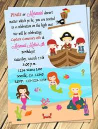 mermaid decorations for kids birthday birthday party pirate
