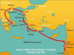 paul goes to jerusalem mission bible class