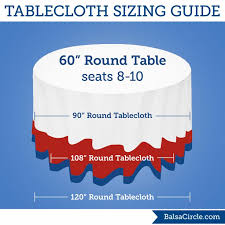 what size tablecloth for 48 round table impressive 25 best 90 round tablecloths ideas on pinterest