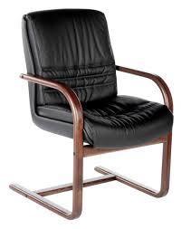 siege visiteur fauteuil visiteur cuir et bois lyon siege en bois et cuir fleur
