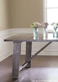DIY Furniture Knock Offs Decorating Your Small Space - Diy west elm emmerson dining table