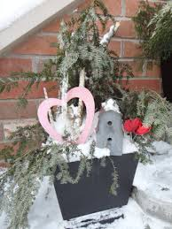 Christmas Decorating Ideas Outdoor Planters Pictures Valentine Outdoor Containers Planters Pots