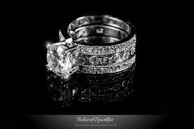 4 carat cubic zirconia engagement rings ring engagement wedding anniversary ring set cubic