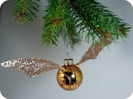 tiny apartment crafts the golden snitch ornament tutorial