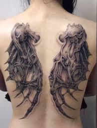 amazing full back angel wing tattoo design ideas tattoo design ideas