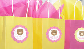 baby shower gift bag ideas baby shower labels stickeryou products