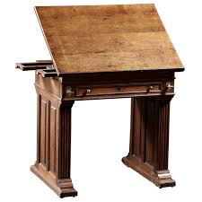 Antique Wood Drafting Table 142 Best Antique Writing Desk Images On Pinterest Antique