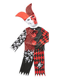 jester halloween costumes fancy dress red halloween jester with mask 3 12 years tu clothing