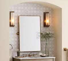 Bathroom Mirror Vintage Vintage Pivot Mirror Pottery Barn