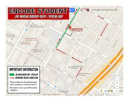 Pierce College Map Riverside U2013 Encore Jr And Sr High For The Arts