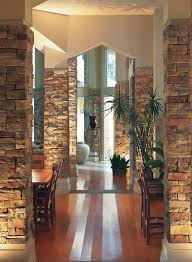 Pillar Designs For Home Interiors by Best 25 Stone Pillars Ideas On Pinterest The Timber Front
