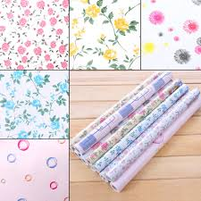 Kitchen Cabinet Paper Liner Aliexpress Com Buy Yazi Floral Self Adhesive Drawer Liner