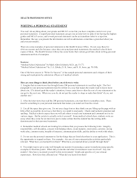 example personal statement for medical