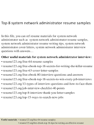 Citrix Administrator Resume Sample by 9 Best Best Network Administrator Resume Templates Samples A
