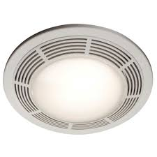 broan 100 cfm ceiling bathroom exhaust fan with light night light
