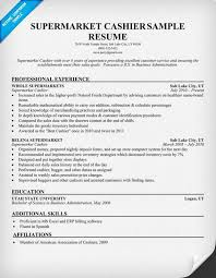 resume exles cashier experience exles of resumes