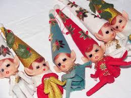 vintage goodness 1 0 vintage knee hugger elves for on the shelf