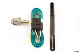 nissan frontier 2005 2017 wiring kit harness curt mfg 55441