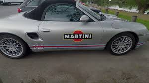 martini stripe porsche boxter martini stripes youtube