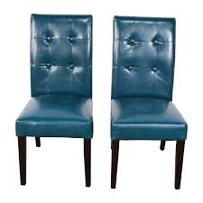 Pier One Chairs Dining 76 Off Pier 1 Imports Pier 1 Imports Mason Collection Teal