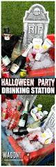 halloween drinking party ideas halloween party drinking station with a wagon
