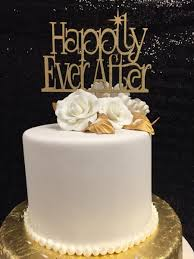 happily ever after cake topper wedding cake topper fairy tale